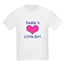 DADDYS LITTLE  GIRL Kids T-Shirt