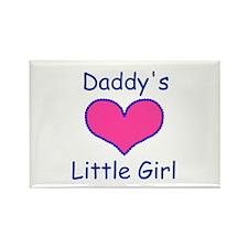DADDYS LITTLE GIRL Rectangle Magnet