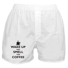 Wake up and smell the coffee Boxer Shorts