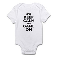Keep Calm and Game On (parody Infant Bodysuit