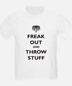 Freak Out and Throw Stuff (pa T-Shirt
