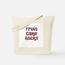 Fruit Cake  Rocks Tote Bag