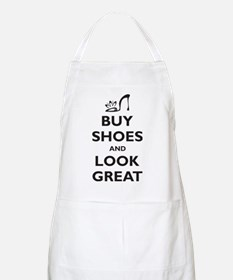 Buy Shoes and Look Great Apron