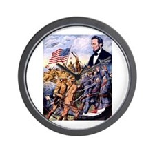 True Sons of Freedom Wall Clock