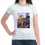 True Sons of Freedom Jr. Ringer T-Shirt