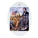 True Sons of Freedom Ornament (Oval)