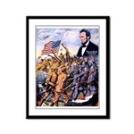 True Sons of Freedom Framed Panel Print