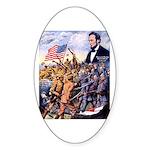 True Sons of Freedom Sticker (Oval)