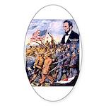 True Sons of Freedom Sticker (Oval 10 pk)