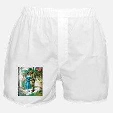 Colored Man Is No Slacker Boxer Shorts