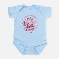 Tutu Piggy 1st Birthday Infant Bodysuit