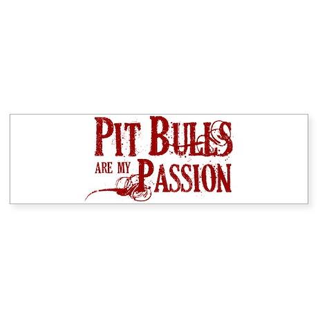 Pit Bull Passion Sticker (Bumper)