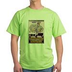 Engineers and Mechanics Wanted Green T-Shirt