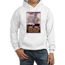 Engineers and Mechanics Wanted Hoodie