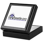 Keepsake Box (Blue Logo)