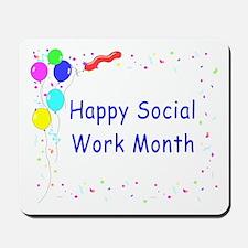 Happy SW Month Mousepad