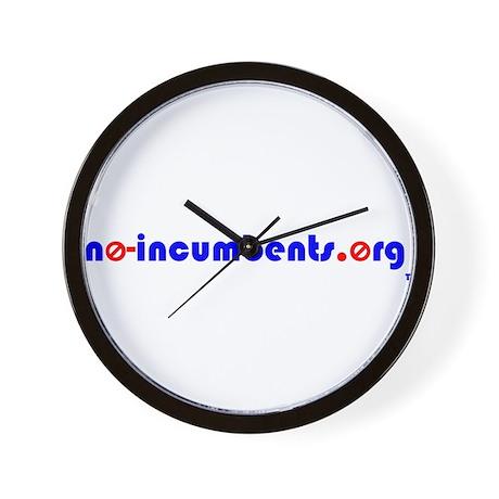 no-incumbents Wall Clock