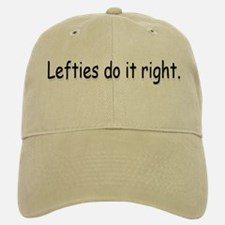 Lefties Baseball Baseball Cap