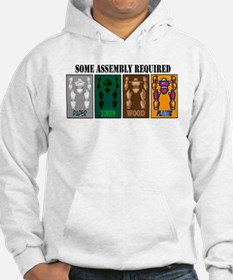 Funny Toy robot Hoodie