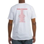 Schools of Communism Fitted T-Shirt