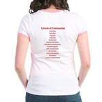 Schools of Communism Jr. Ringer T-Shirt