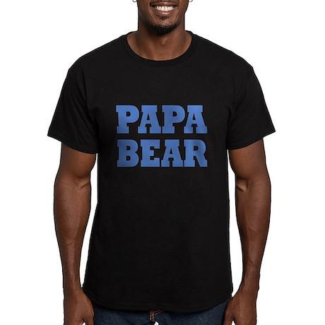 Papa Bear - Baby Bear: Men's Fitted T-Shirt (dark)