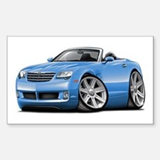 Crossfire Lt Blue Convertible Decal