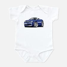 Crossfire Blue Convertible Infant Bodysuit