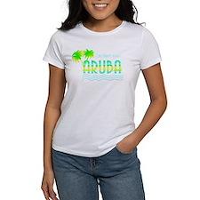 Aruba Palm Trees Tee