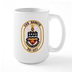 USS BRISCOE Large Mug