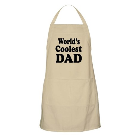 World's Coolest Dad Apron
