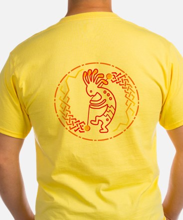 Yellow Fire Addict T-Shirt