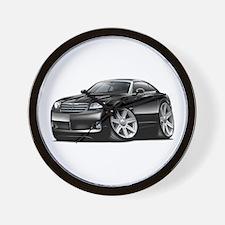 Crossfire Black Car Wall Clock