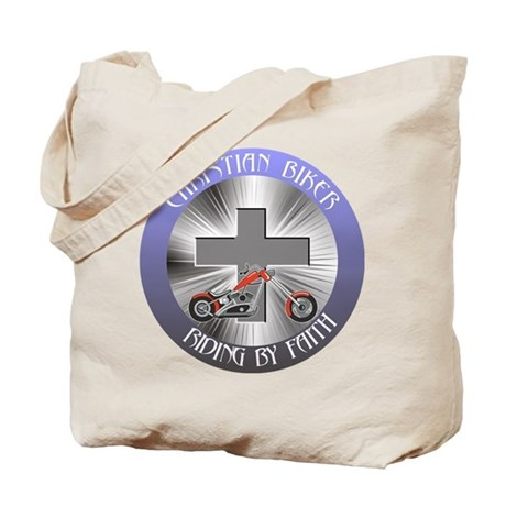 RIDING BY FAITH Tote Bag