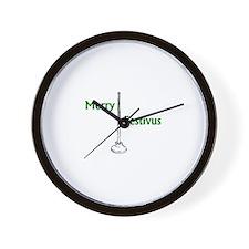 Funny Feats strength Wall Clock
