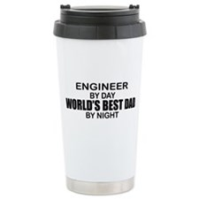 World's Best Dad - Engineer Travel Mug