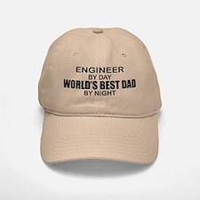 World's Best Dad - Engineer Baseball Baseball Cap