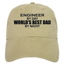 World's Best Dad - Engineer Cap