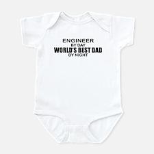 World's Best Dad - Engineer Infant Bodysuit