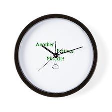 Cute Feats strength Wall Clock