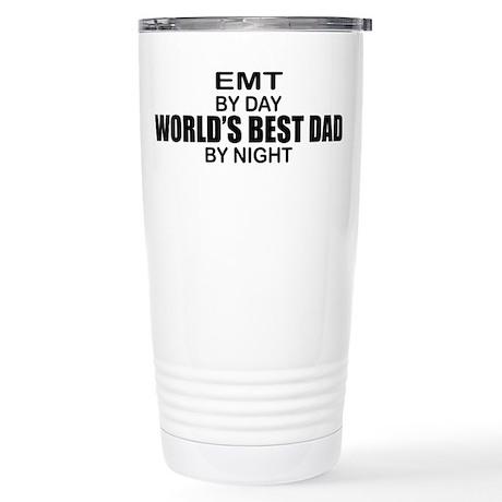 World's Best Dad - EMT Stainless Steel Travel Mug