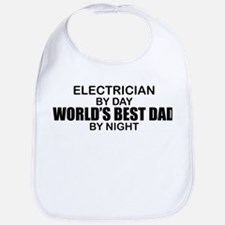 World's Best Dad - Electrician Bib