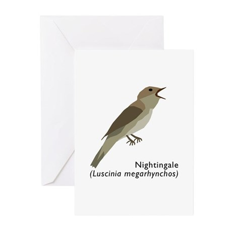 nightingale Greeting Cards (Pk of 10)