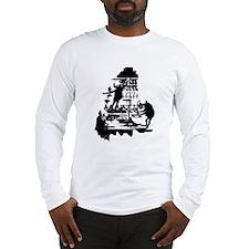 Mad Scientist Skeletons Long Sleeve T-Shirt