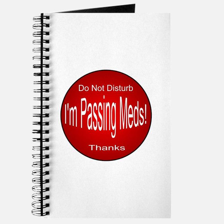 I'm Passing Meds Journal