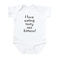 tasty sea kittens Infant Bodysuit