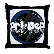 Eclipse Dark Wolf by Twibaby Throw Pillow