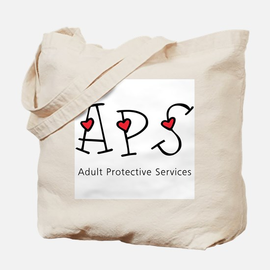 APS Hearts Tote Bag