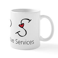 APS Hearts Small Mug