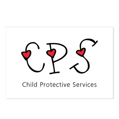 CPS Hearts Postcards (Package of 8)